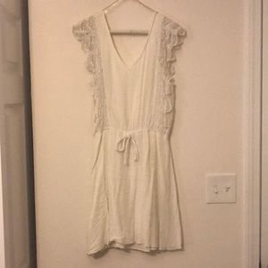 Alya, Francesca's white sundress